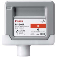 Canon PFI-301R Red Ink Cartridge Original Genuine OEM