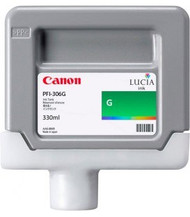 Canon 6664B001AA (PFI-306G) Green Ink Cartridge Original Genuine OEM