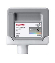 Canon 6666B001AA (PFI-306GY) Gray Ink Cartridge Original Genuine OEM
