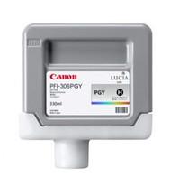 Canon 6667B001AA (PFI-306PGY) Photo Gray Ink Cartridge Original Genuine OEM