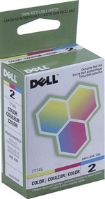 Dell 7Y745 Color Ink Cartridge Original Genuine OEM