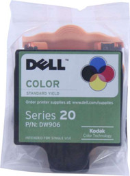 Dell DW906 Color Ink Cartridge Original Genuine OEM