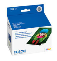 Epson T018201 Tri-Color Ink Cartridge Original Genuine OEM