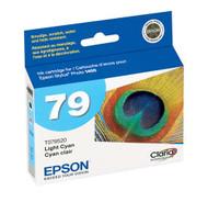 Epson T079520 Light Cyan Ink Cartridge Original Genuine OEM