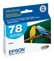 Epson T078220 Cyan Ink Cartridge Original Genuine OEM