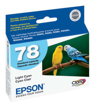 Epson T078520 Light Cyan Ink Cartridge Original Genuine OEM