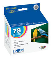 Epson T078920 Combo Pack (C/M/Y/Lc/Lm) Ink Cartridge Original Genuine OEM