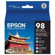Epson T098920 5 Color Inkjet Cartridge Multipack Original Genuine OEM