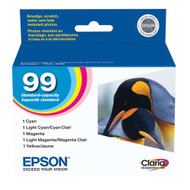 Epson T099920 Ink Cartridge Combo Pack (C/M/Y/Pc/Pm) Original Genuine OEM