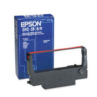 Epson ERC-38BR Black/Red Printer Ribbon Cartridge Original Genuine OEM