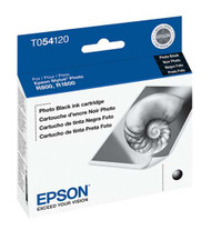 Epson T054120 Photo Black Ink Cartridge Original Genuine OEM
