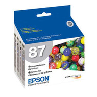 Epson T087020 Gloss Optimizer Ink Cartridge Original Genuine OEM
