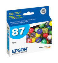 Epson T087220 Cyan Ink Cartridge Original Genuine OEM