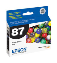 Epson T087820 Matte Black Ink Cartridge Original Genuine OEM