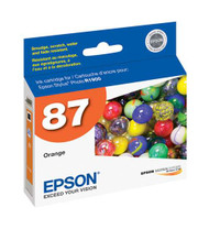 Epson T087920 Orange Ink Cartridge Original Genuine OEM
