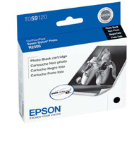 Epson T059120 Photo Black Ink Cartridge Original Genuine OEM