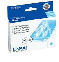 Epson T059520 Light Cyan Ink Cartridge Original Genuine OEM