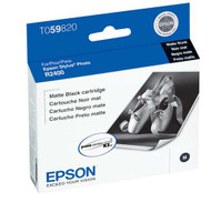 Epson T059820 Matte Black Ink Cartridge Original Genuine OEM