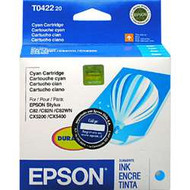 Epson T042220 Cyan Ink Cartridge Original Genuine OEM