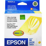 Epson T042420 Yellow Ink Cartridge Original Genuine OEM