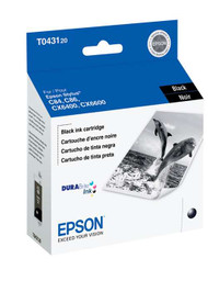 Epson T043120 High Yield Black Ink Cartridge Original Genuine OEM
