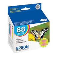 Epson T088520 Ink Cartridge Combo Pack (C/M/Y) Original Genuine OEM
