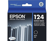 Epson T124120 Black Ink Cartridge Original Genuine OEM