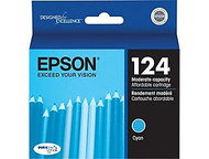 Epson T124220 Cyan Ink Cartridge Original Genuine OEM
