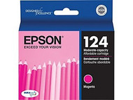 Epson T124320 Magenta Ink Cartridge Original Genuine OEM