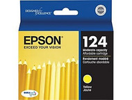 Epson T124420 Yellow Ink Cartridge Original Genuine OEM