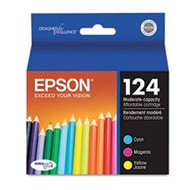Epson T124520 3 Color Inkjet Cartridge Multipack Original Genuine OEM