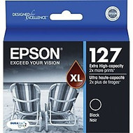Epson T127120 Extra High Yield Black Ink Cartridge Original Genuine OEM