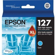 Epson T127220 Extra High Yield Cyan Ink Cartridge Original Genuine OEM