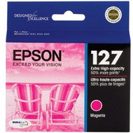Epson T127320 Extra High Yield Magenta Ink Cartridge Original Genuine OEM