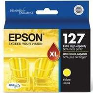 Epson T127420 Extra High Yield Yellow Ink Cartridge Original Genuine OEM