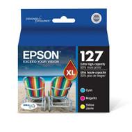 Epson T127520 3 Color Inkjet Cartridge Multipack Original Genuine OEM