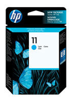 HP C4836A (HP 11) Cyan Ink Cartridge Original Genuine OEM