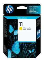 HP C4838A (HP 11) Yellow Ink Cartridge Original Genuine OEM