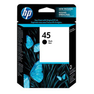 HP 51645A (HP 45) Black Ink Cartridge Original Genuine OEM