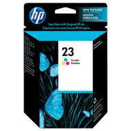 HP C1823D (HP 23) Tri-Color Ink Cartridge Original Genuine OEM