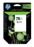 HP C6578AN (HP 78XL) Tri-Color Ink Cartridge Original Genuine OEM