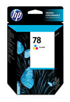 HP C6578DN (HP 78) Hi-Yield Tri-Color Ink Cartridge Original Genuine OEM