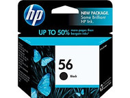 HP C6656AN (HP 56) Black Ink Cartridge Original Genuine OEM