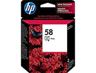 HP C6658AN (HP 58) Photo Ink Cartridge Original Genuine OEM