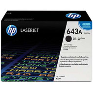 HP Q5950A (HP 643A) Black Toner Cartridge Original Genuine OEM