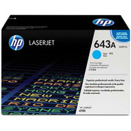 HP Q5951A (HP 643A) Cyan Toner Cartridge Original Genuine OEM