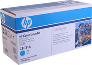 HP CF031A Cyan Toner Cartridge Original Genuine OEM