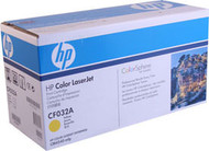 HP CF032A Yellow Toner Cartridge Original Genuine OEM
