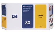 HP C4848A (HP 80XL) Yellow Ink Cartridge Original Genuine OEM