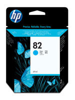 HP C4911A (HP 82) Cyan Ink Cartridge Original Genuine OEM